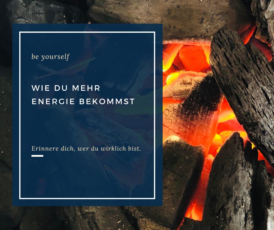 Wie du mehr Energie bekommst