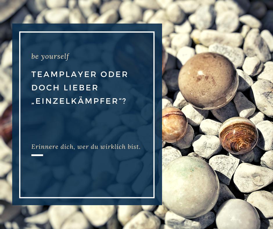 Teamplayer oder Einzelkämpfer